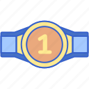 award, belt, boxing, winner