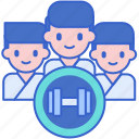group, people, team, training icon