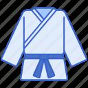 clothes, karate, karategi, uniform