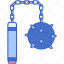 ball, game, mace, weapon icon