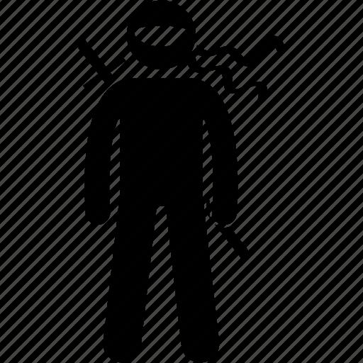 assassin, combat, japan, japanese, ninja, ninjutsu, shinobi icon