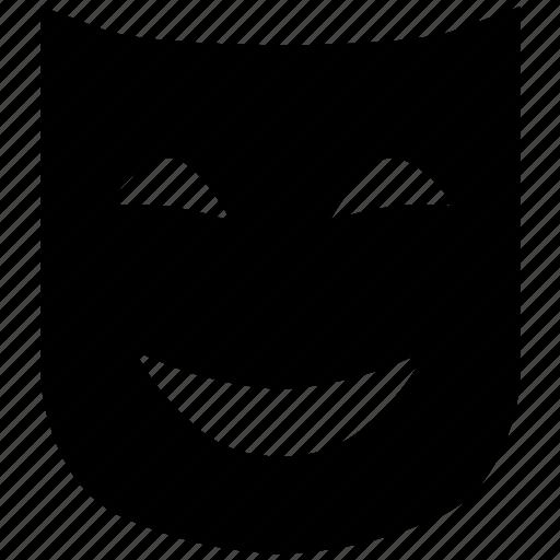 carnival, happy, mask, theater, theatre icon