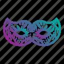 carnival, doodles, face, festival, mask, masquerade, party icon