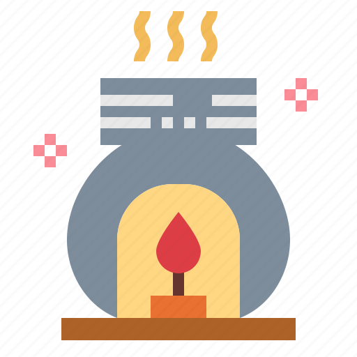 burner, relax, scent, spa icon