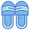clothes, comfortable, footwear, slipper icon