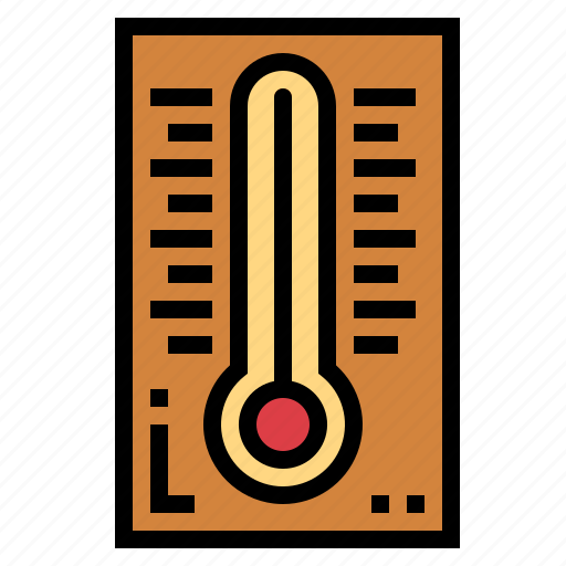 mercury, temperature, thermometer, weather icon
