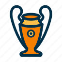 champions, football, league, trophy icon