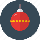 ball, celebration, christmas, decoration, holiday icon