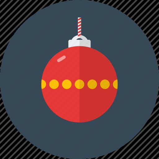 ball, celebration, christmas, decoration, holiday icon