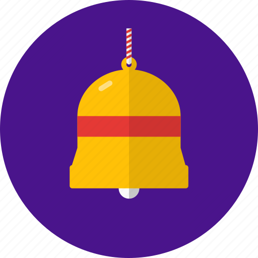 bell, celebration, christmas, decoration, holiday icon