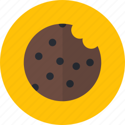 chocolate, cookie, dessert, food, sweet icon