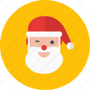 celebration, christmas, holiday, santa, winter icon