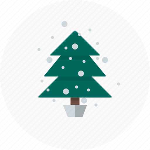 christmas, decoration, nature, tree, winter icon