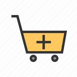 basket, buy, cart, grocery, retail, shopping, store icon