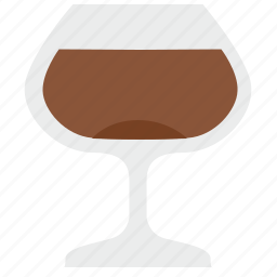 alcohol, bocal, cognat, drink, glass, party, rest icon