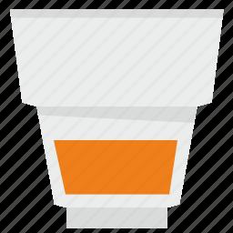 bocal, drink, glass, juice, orange icon