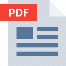 business, document, file, office, pdf, report, type icon