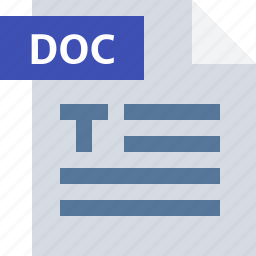 business, data, document, extension, file, office, type icon