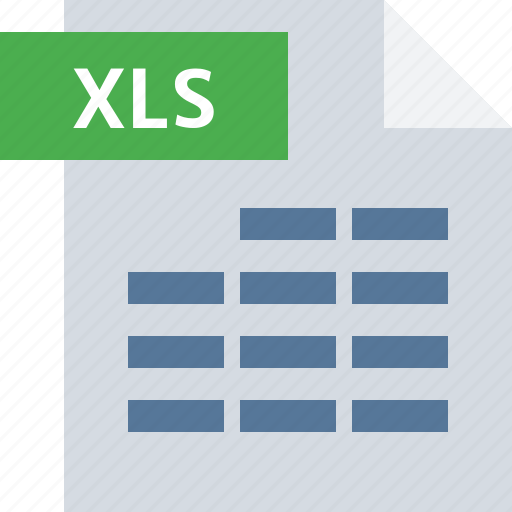 business, document, file, office, sheet, type, xls icon