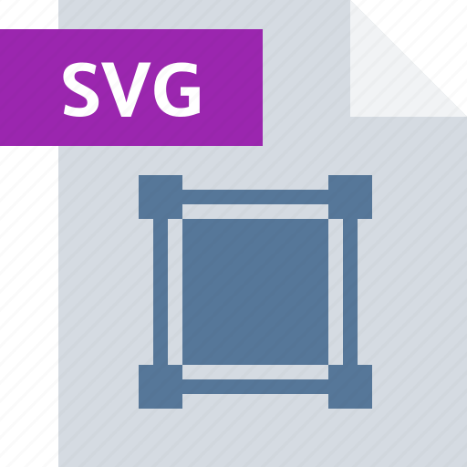 extension, file, format, graphics, svg, type icon