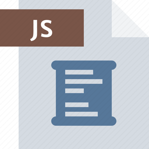 code, document, extension, file, java, script, type icon