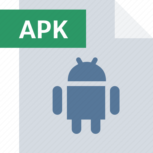 android, apk, app, extension, file, format, type icon