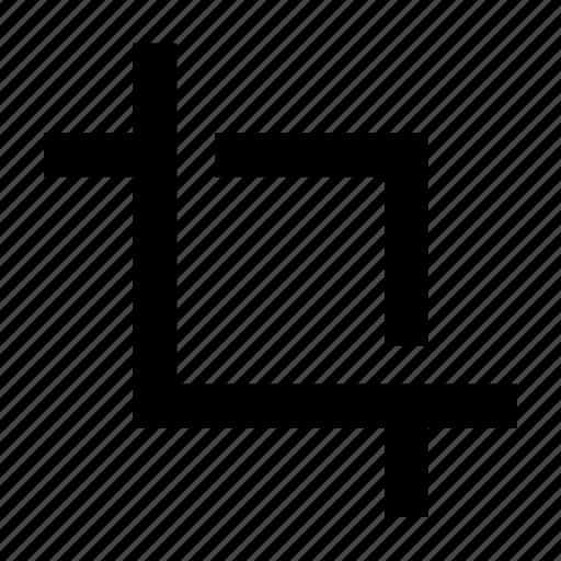 crop, design, measure, modify, slice, tool, transform icon