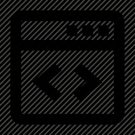application, build, coding, development, programming, source code, website icon