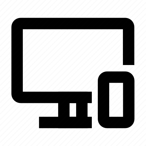 computer, development, devices, electronics, mobile, responsive icon