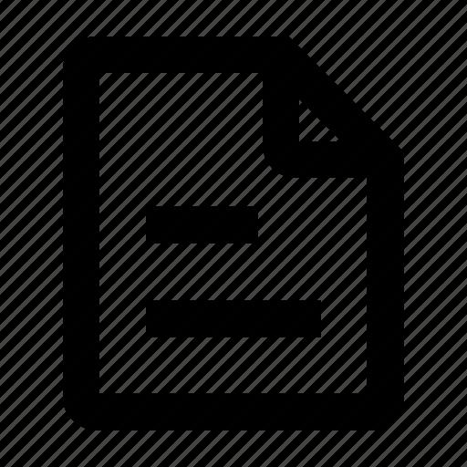 bill, document, file, format, invoice, paper, report icon