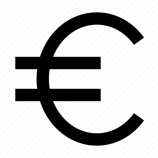 currency, euro, income, money, profit icon