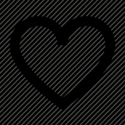 favorite, heart, like, love, romance, valentine, wishlist icon
