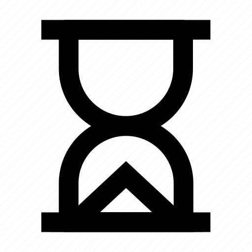 clock, hour, hourglass, sand, time, timer icon