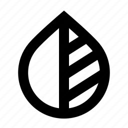 black and white, colors, difference, drop, invert, tool, water icon