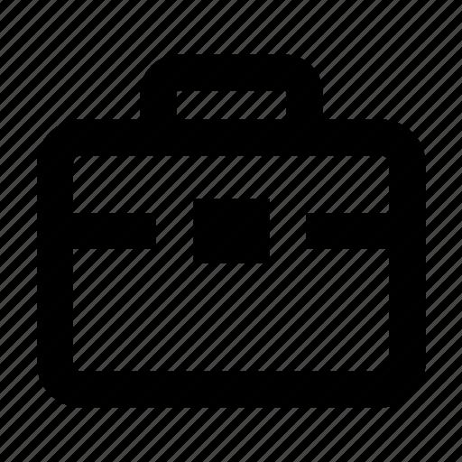bag, brifecase, business, job, office, portfolio, profile icon
