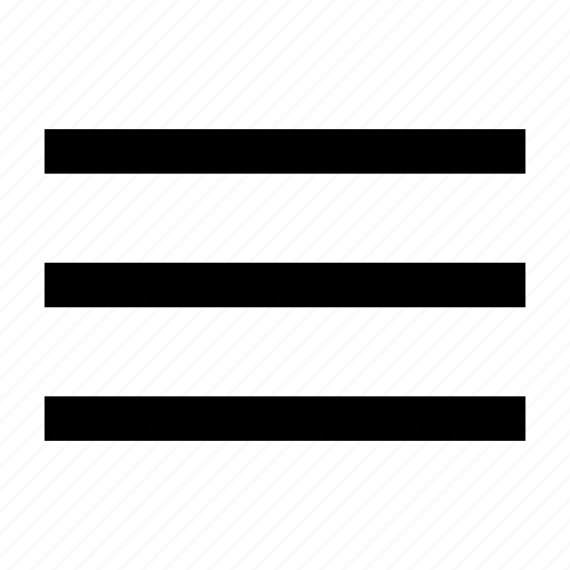 hamburger, lines, list, menu icon