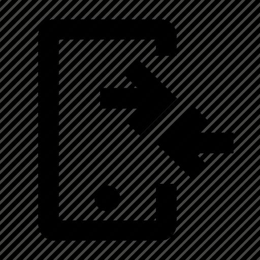 data, exchange, mobile, receiver, synchronize, transfer icon