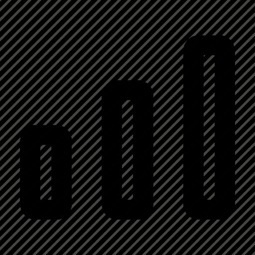 data, internet, mobile, network, signal icon