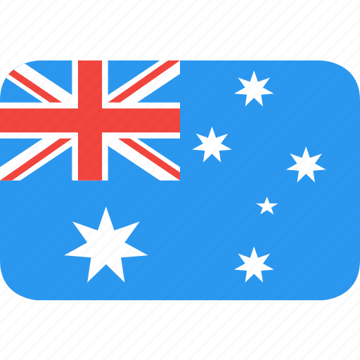 australia, country, flag, nation icon