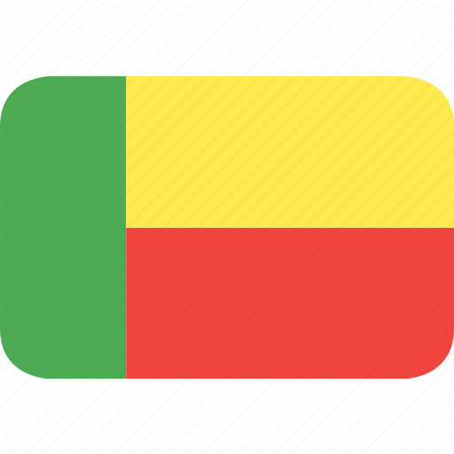benin, country, flag, nation icon