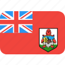 country, flag, bermuda, nation