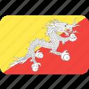 bhutan, country, flag, nation