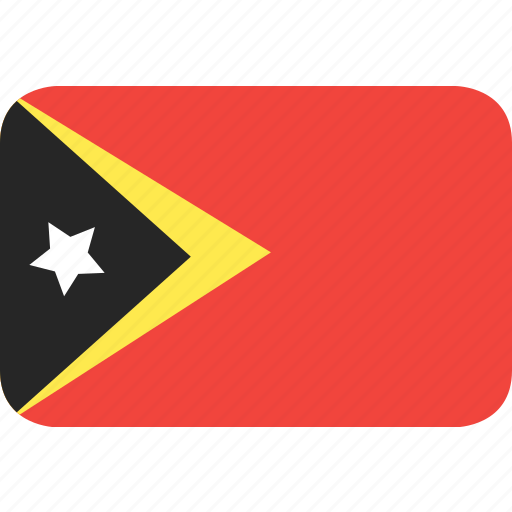 country, east, flag, nation, timor icon