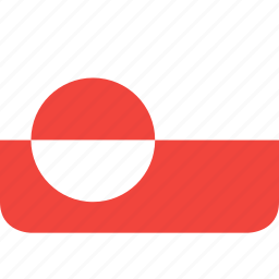 country, flag, greenland, nation icon