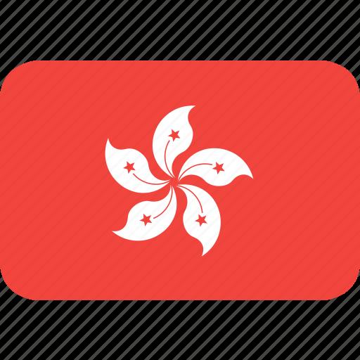 country, flag, hongkong, nation icon