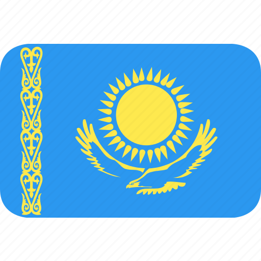 Country, flag, kazakhstan, nation icon - Download on Iconfinder