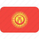 country, flag, kyrgystan, nation icon