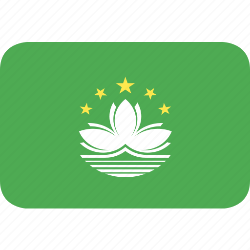 country, flag, macau, nation icon