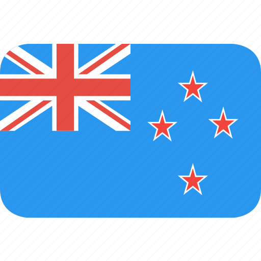 country, flag, nation, new, zealand icon