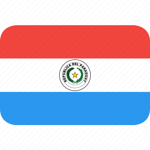 country, flag, nation, paraguay icon